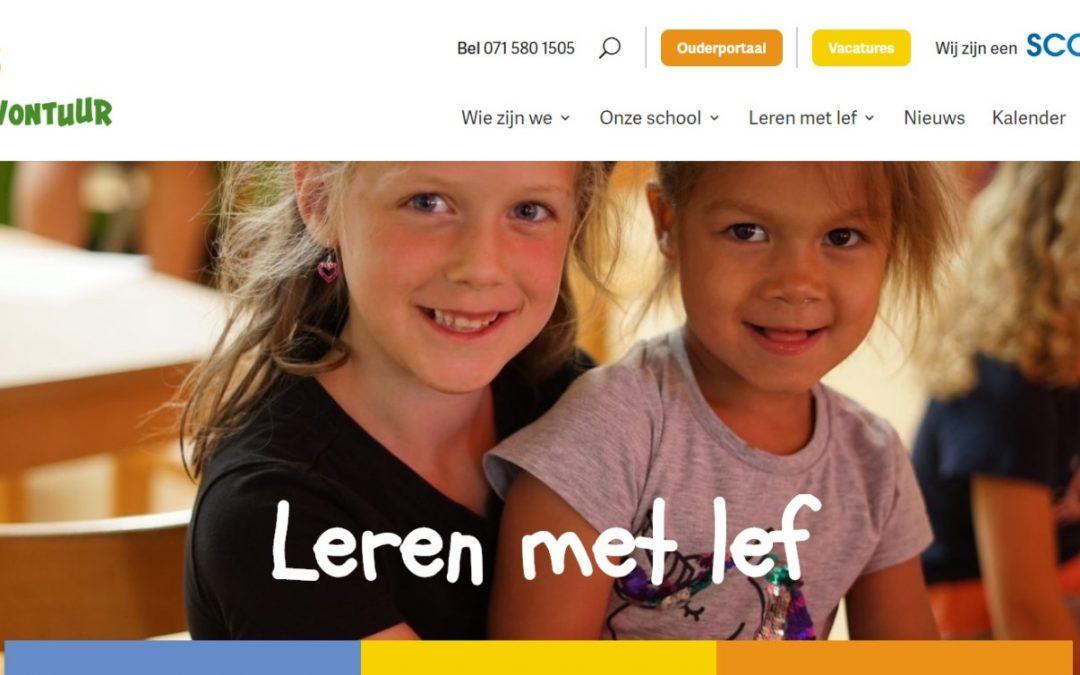 Nieuwe school, nieuwe website